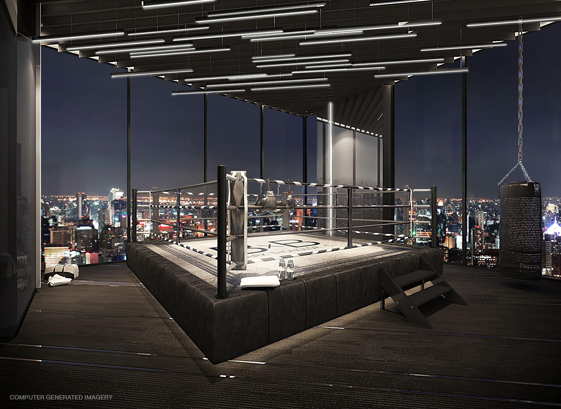 Building C: Boxing Gym ให้คุณได้ชาร์จพลัง ท่ามกลางสีสันของเมือง