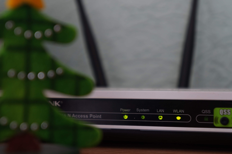 อย่าวาง router ไว้ที่พื้น