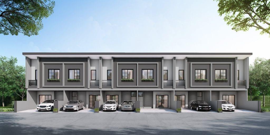 PRESTON บ้านที่รอบรับครอบครัวขนาดใหญ่ หน้ากว้าง 5.7 ม. 3 ห้องนอน, 1 ห้องอเนกประสงค์, 3 ห้องน้ำ, 1 ห้องนั่งเล่น, 1 ห้องครัวไทย, 1 แพนทรี, 2 ที่จอดรถ